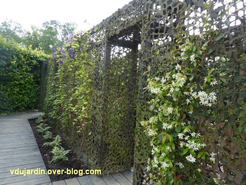 Chaumont-sur-Loire, festival des jardins 2012, jardin 16, 1, l'entrée