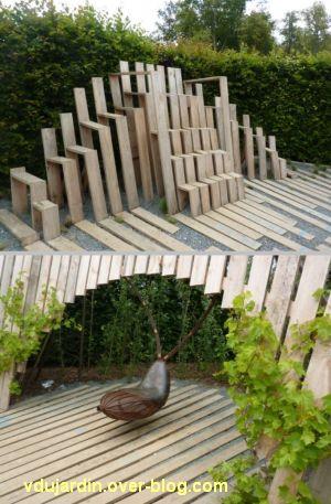 Chaumont-sur-Loire, festival des jardins 2012, jardin 21, 3, les sièges