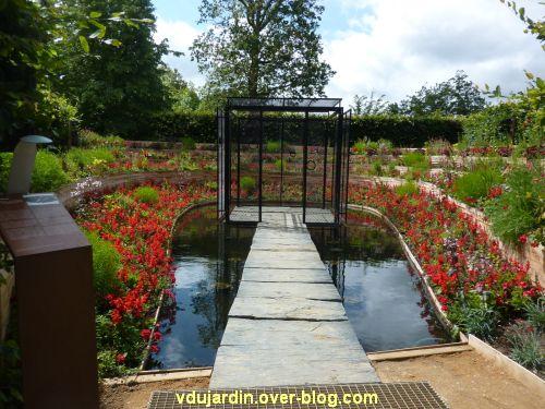 Chaumont-sur-Loire, festival des jardins 2012, jardin 3, 1, vue générale