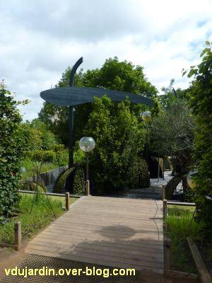 Chaumont-sur-Loire, festival des jardins 2012, jardin 4, 1, vue de l'entrée