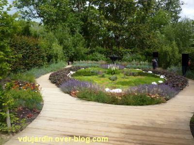 Chaumont-sur-Loire, festival des jardins 2012, jardin 6, 1 vue générale