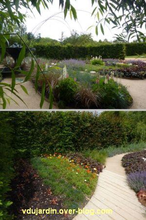 Chaumont-sur-Loire, festival des jardins 2012, jardin 6, 2, deux vues