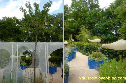 Chaumont-sur-Loire, festival des jardins 2012, jardin 9, 3, Aladin es-tu là
