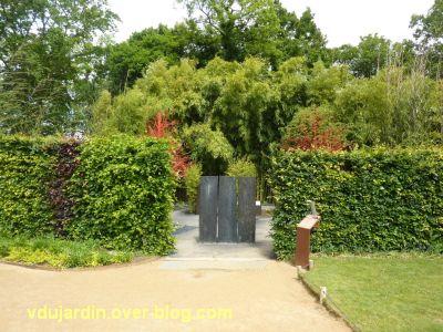 Chaumont-sur-Loire, festival des jardins 2012, jardin 10, 1, l'entrée