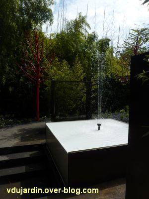 Chaumont-sur-Loire, festival des jardins 2012, jardin 10, 3, fontaine