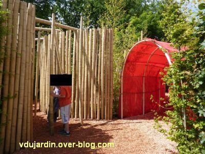 Chaumont-sur-Loire, festival des jardins 2012, jardin 12, 1, entrée
