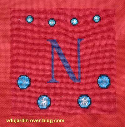 Le N pour la bannière de Kutzenhausen, 3, terminé