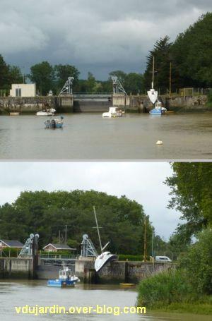 Nantes 2012, croisière, 09, entrée du canal de la Martinière par Wurm au Pellerin