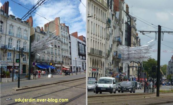 On grimpe à Nantes, 1, plateforme Superama, vue du quai de la Fosse