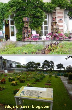 Nantes 2012, le jardin des plantes, 08, parterres fleuris