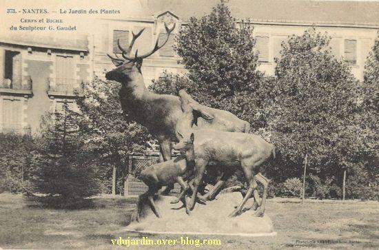 Nantes 2012, l'art au jardin des plantes, 8, carte postale ancienne
