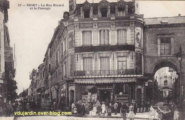 quelques commerces et magasins autour de 1900 niort le blog de v ronique d. Black Bedroom Furniture Sets. Home Design Ideas