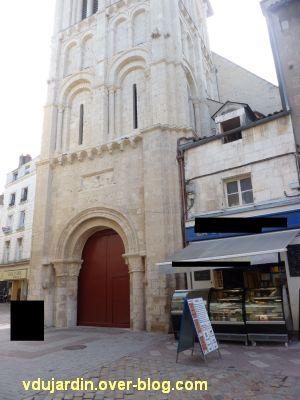 Poitiers, église Saint-Porchaire, 2, façade restaurée
