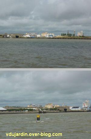 Saint-Nazaire 2012, 01, entrée dans le port
