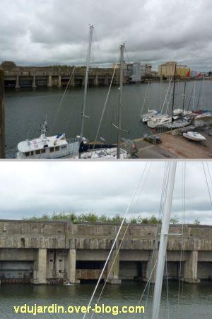 Saint-Nazaire 2012, 04, la base navale depuis le toit panoramique