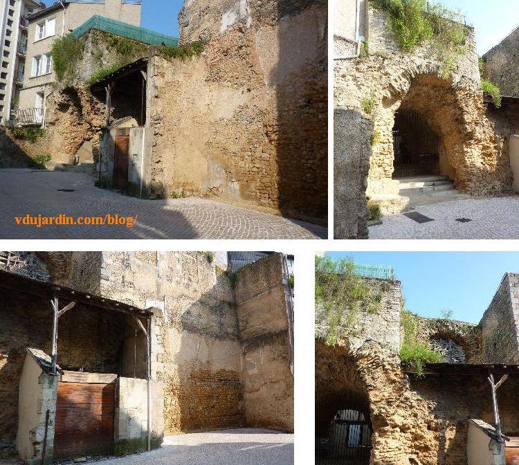 Quatre vues de l'amphithéâtre de Poitiers, 2013