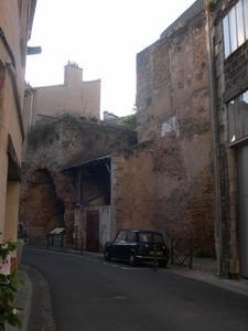 Les arènes rue Bourcani à Poitiers