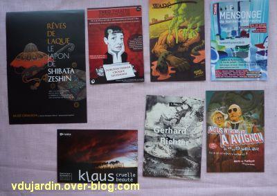 Capucine en juillet 2012, cartes à publicité, 3