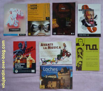 Cartes à publicité collectées par moi-même, 1, à Chaumont