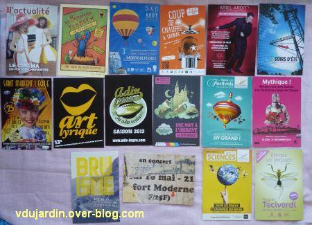 Cartes à publicité collectées par moi-même, 3, à Poitiers