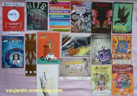 Cartes à publicité collectées par moi-même, 2, à Toulouse