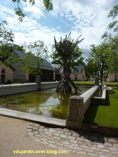 Chaumont-sur-Loire 2012, art, 2, arbre de Verschueren
