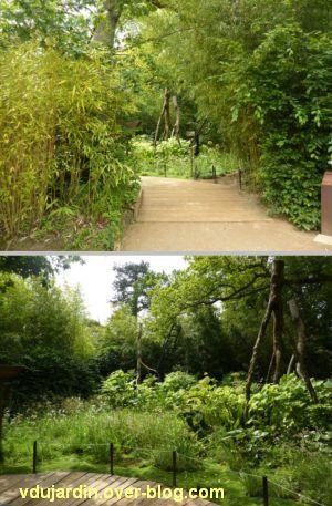 Chaumont-sur-Loire, festival des jardins 2012, jardin 19bis, 1, deux vues générales