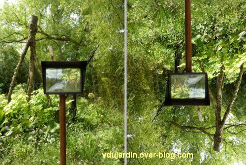 Chaumont-sur-Loire, festival des jardins 2012, jardin 19bis, 2, endroit ou envers...