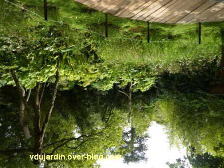 Chaumont-sur-Loire, festival des jardins 2012, jardin 19bis, 3, retournement d'une vue générale