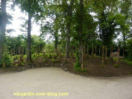 Chaumont-sur-Loire, festival des jardins 2012, jardin des sorcières, 1, des balais