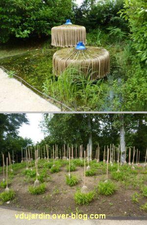 Chaumont-sur-Loire, festival des jardins 2012, jardin des sorcières, 2, deux vues