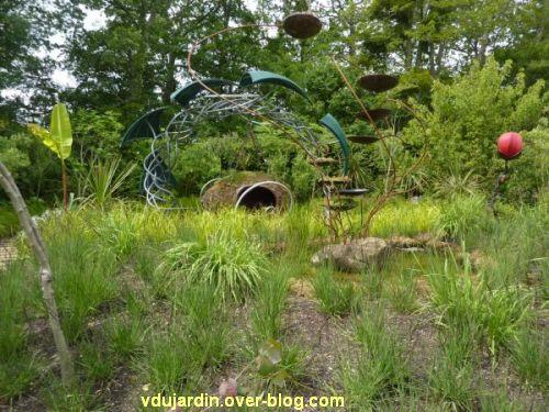 Chaumont-sur-Loire, festival des jardins 2012, jardin 15, 1, vue générale