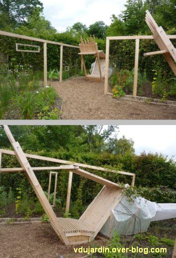 Chaumont-sur-Loire, festival des jardins 2012, jardin 22, 2, deux vues plus rapprochées