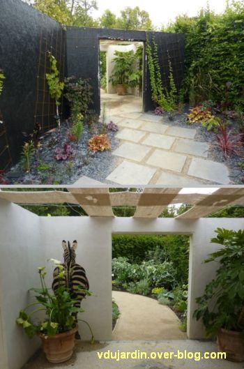 Chaumont-sur-Loire, festival des jardins 2012, jardin 23, 2, écrans successifs