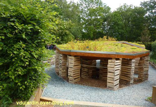 Chaumont-sur-Loire, festival des jardins 2012, jardin 8, 1, vue générale depuis l'entrée
