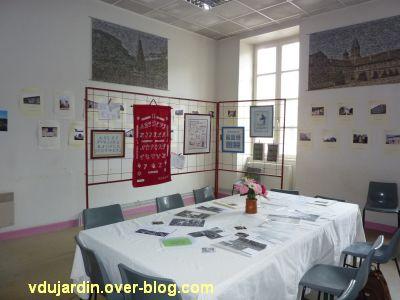 Gigny-sur-Suran, exposition autour du fil 2012, 6, la troisième salle
