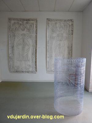 Gigny-sur-Suran, exposition autour du fil 2012, 7, oeuvres de Agnan Kroichvili
