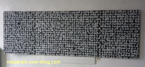 Gigny-sur-Suran, exposition autour du fil 2012, 8, montage photographique de Agnan Kroichvili