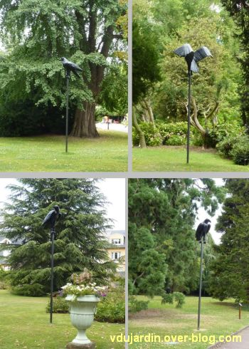 Metz, Cyrille André, 9, au jardin des plantes, quatre oiseaux
