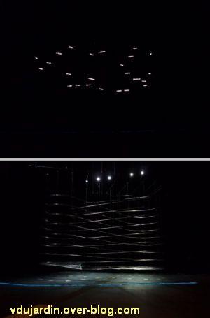 L'ouest de l'île de Nantes 2012, 07, Particles de Manabe et Ishibashi, dans le noir et après