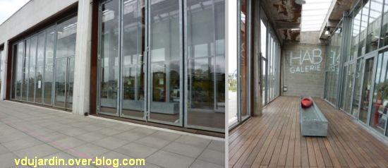L'ouest de l'île de Nantes 2012, 10, la galerie HAB et expo Signer