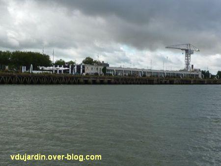 L'ouest de l'île de Nantes 2012, 11, l'ouest de l'île vue depuis la Loire