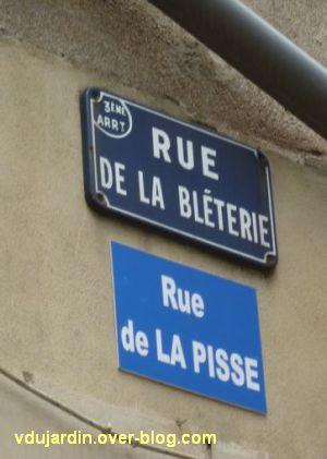 Nantes, art dans la rue, 06, rue de la pisse...