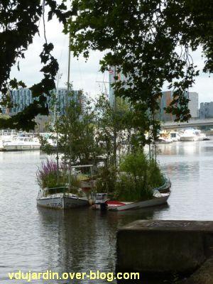 Nantes 2012, début du circuit en ville, 02, les arbres flottants