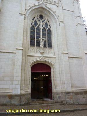 Nantes 2012, début du circuit en ville, 04, façade de la chapelle de l'Immaculée