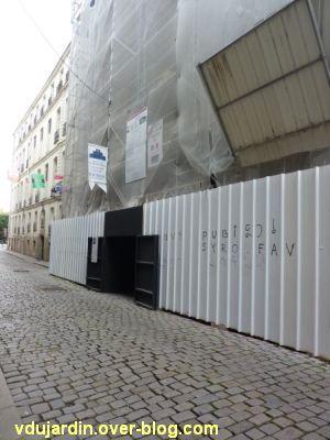 Nantes 2012, début du circuit en ville, 14, sur l'île Feydeau