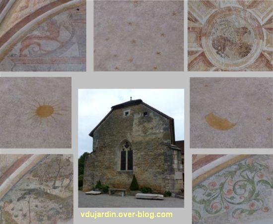 Ruffey-sur-Seille, les bannières de Cluny présentées au prieuré Saint-Christophe, 5, la chapelle