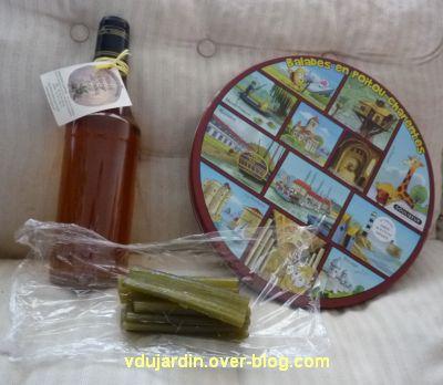 Produits régionaux : galette, angélique confite et huile de noix