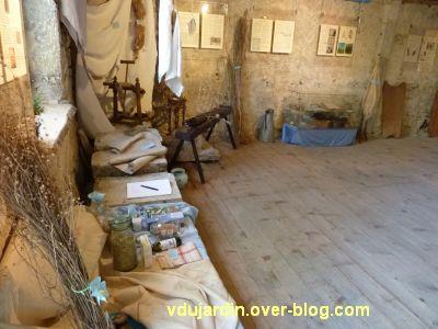 Saint-Laurent-en-Grandvaux, exposition 2012, 1, histoire du lin et du chanvre