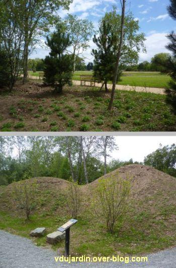 Chaumont-sur-Loire 2012, pré du Goualoup, 1, deux vues du jardin